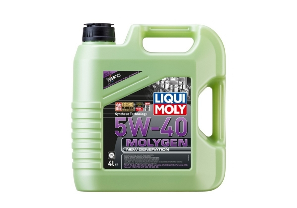Моторное масло Liqui Moly Molygen New Generation 5W-40 4л