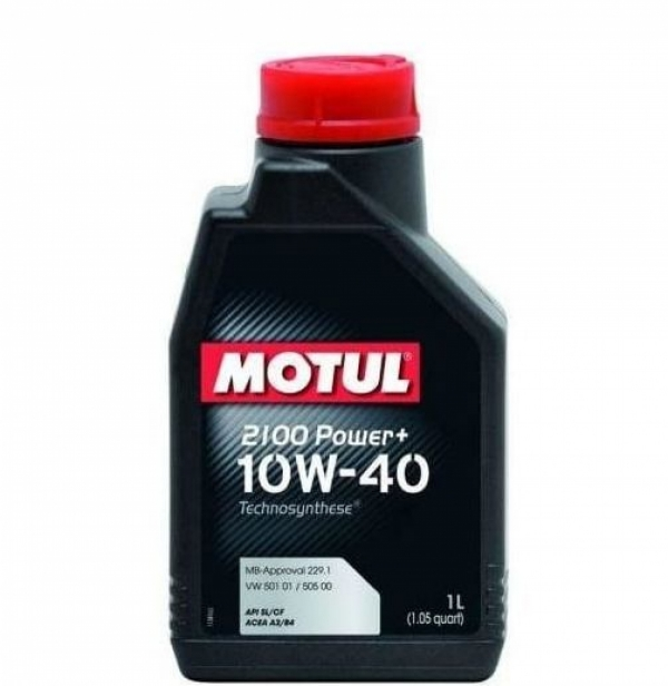 Моторное масло Motul 2100 Power+ 10W-40 (1л)