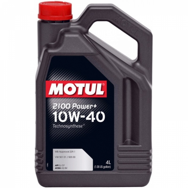 Моторное масло Motul 2100 Power+ 10W-40 (4л)