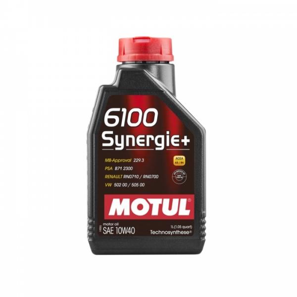 Моторное масло Motul 6100 Synergie+ 10W-40 (1л)