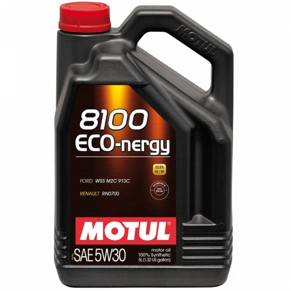 Моторное масло Motul 8100 Eco-nergy 5W-30 (5л)