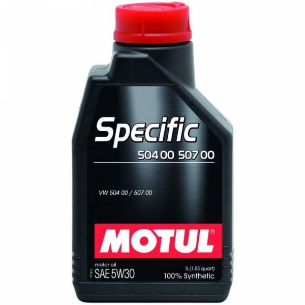 Моторное масло Motul Specific VW 504.00/507.00 5W-30 (1л)