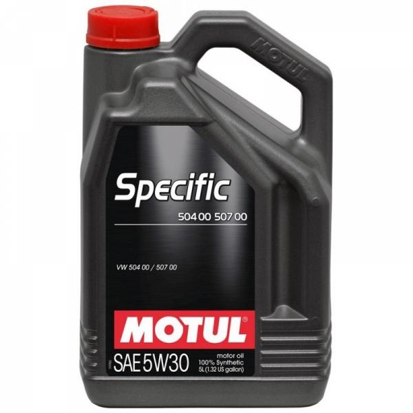 Моторное масло Motul Specific VW 504.00/507.00 5W-30 (5л)