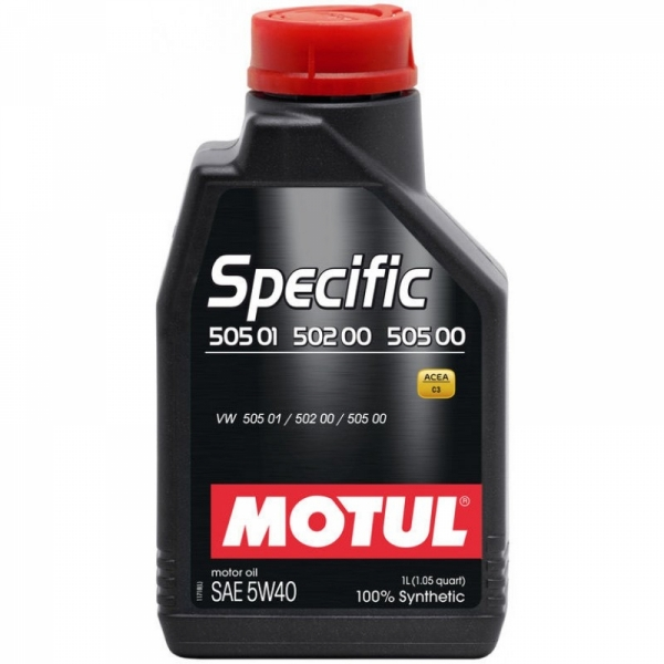 Моторное масло Motul Specific VW 505.01/502.00/505.00 5W-40 (1л)