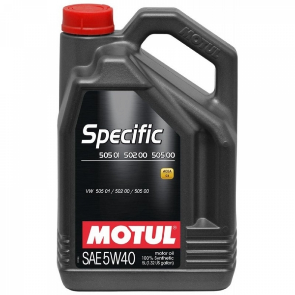 Моторное масло Motul Specific VW 505.01/502.00/505.00 5W-40 (5л)