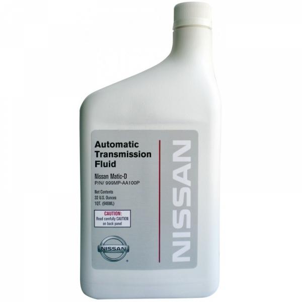 Трансмиссионное масло Nissan ATF Matic D 0.946 л