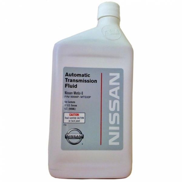 Трансмиссионное масло Nissan ATF Matic S 0.946 л