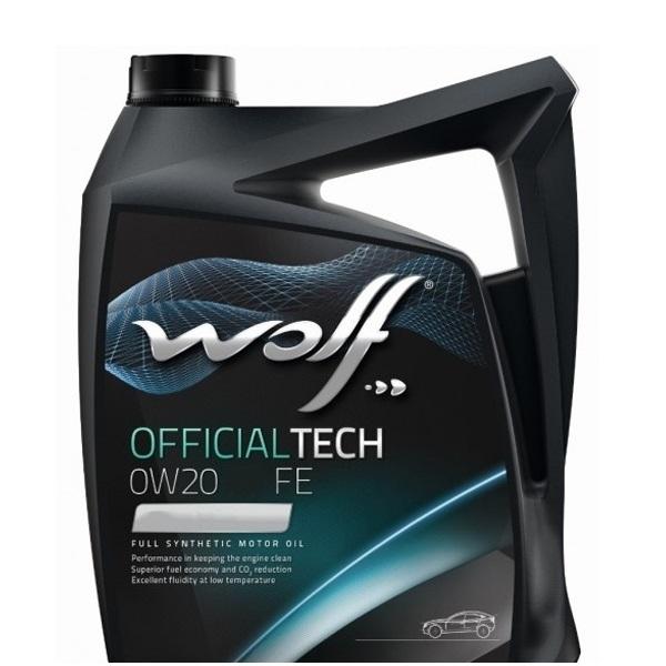 Моторное масло Wolf Officialtech 0W-20 LS-FE 4л