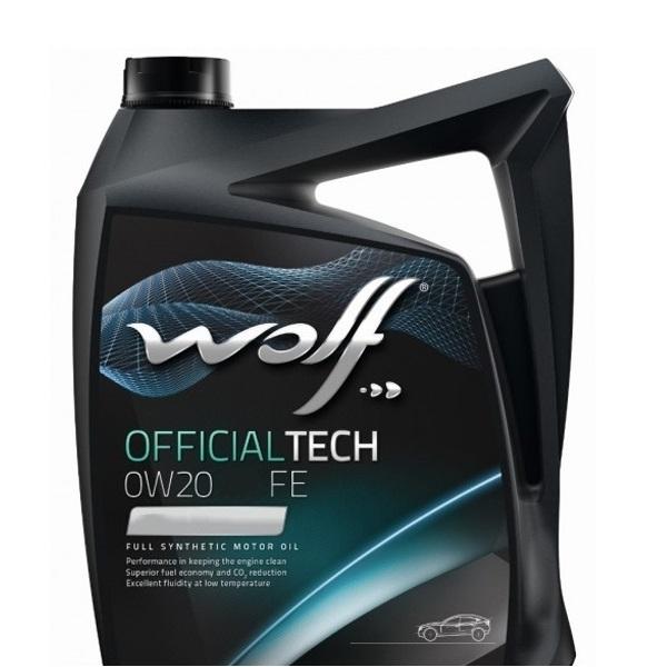 Моторное масло Wolf Officialtech 0W-20 LS-FE 5л