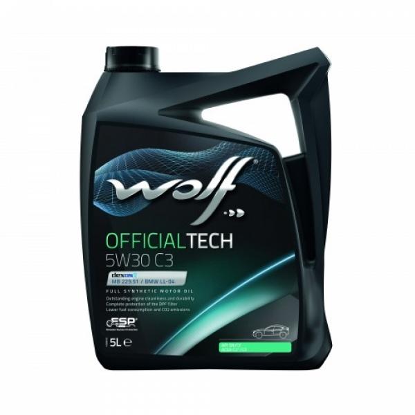 Моторное масло Wolf Officialtech 5W-30 C3 5л