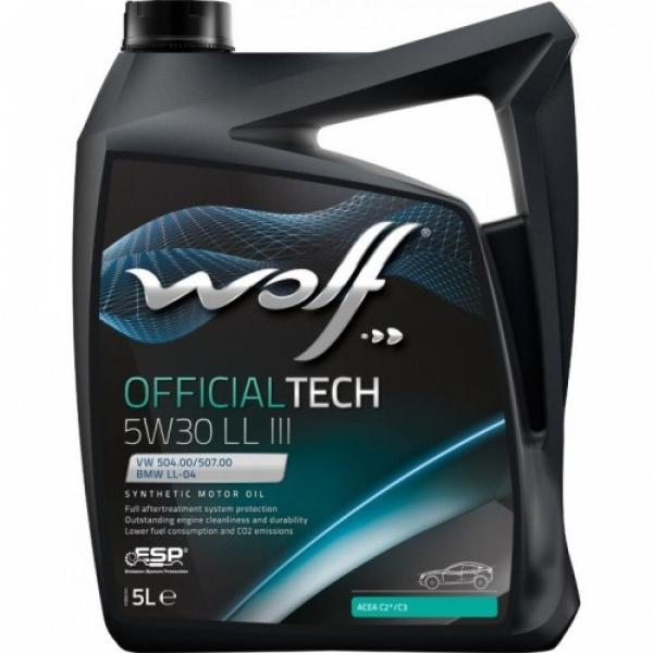 Моторное масло Wolf Officialtech 5W-30 LL 5л