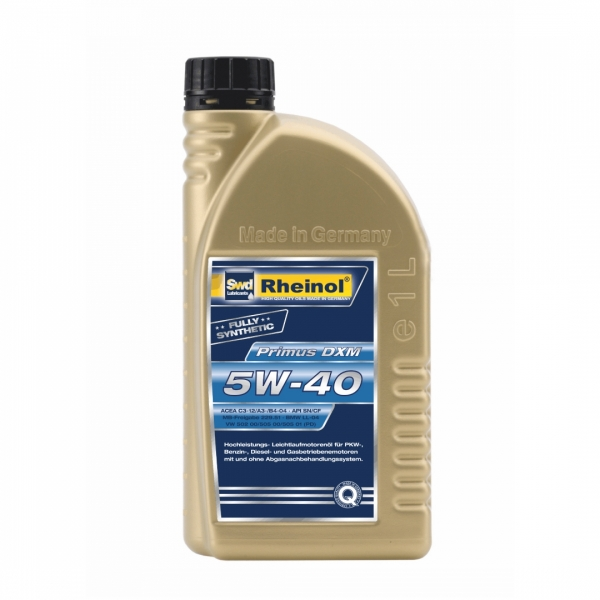 Моторное масло Swd Rheinol Primus DXM 5W-40 1л