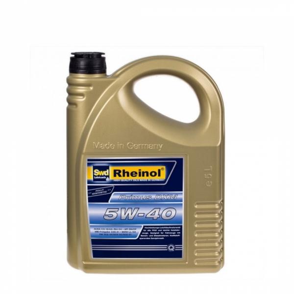 Моторное масло Swd Rheinol Primus DXM 5W-40 5л