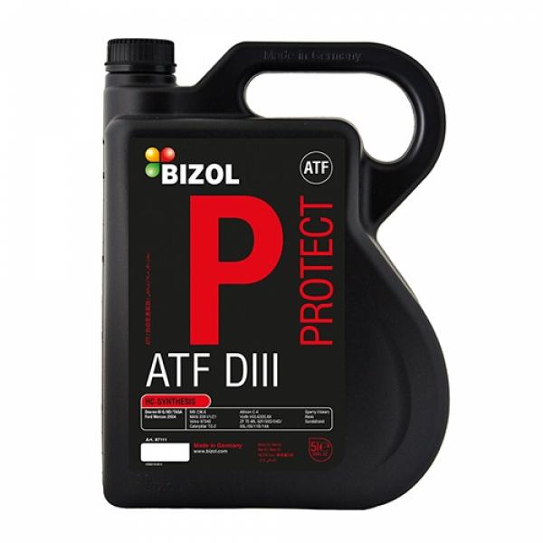 Трансмиссионное масло BIZOL Protect ATF DIII (5л)