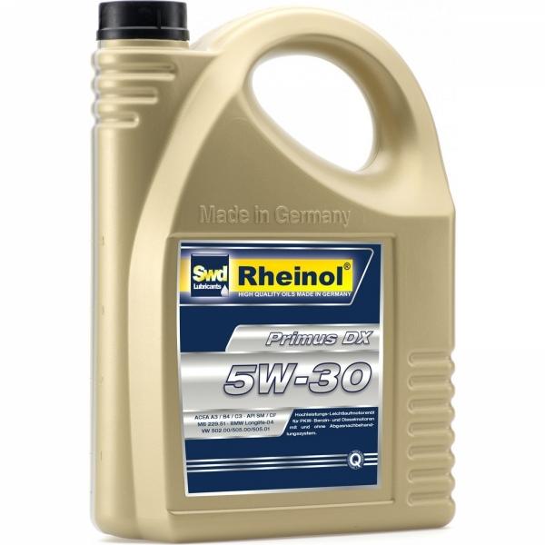 Моторное масло Swd Rheinol Primus DX 5W-30 4л