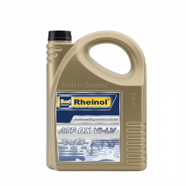 Трансмиссионное масло Swd Rheinol ATF DX VI - LV 4л