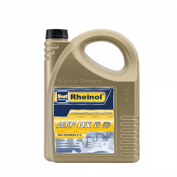 Трансмиссионное масло Swd Rheinol ATF Dexron II D 4л