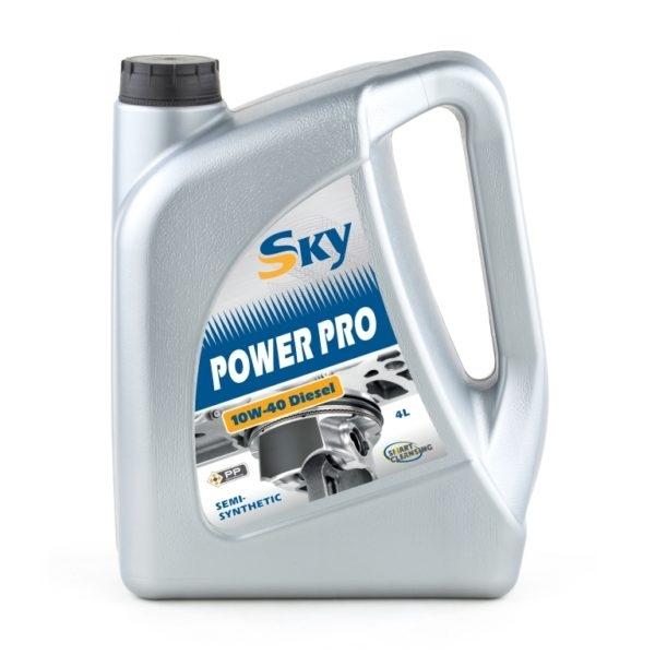 Моторное масло Sky Power PRO Diesel 10W-40 (4л)