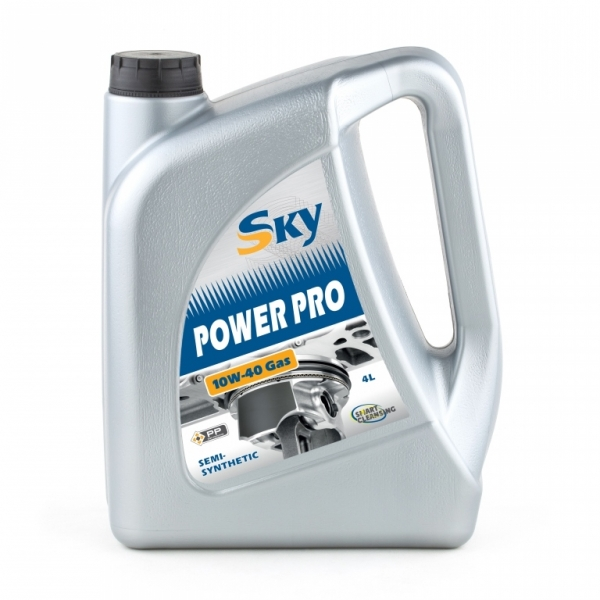 Моторное масло Sky Power PRO Gas 10W-40 (4л)