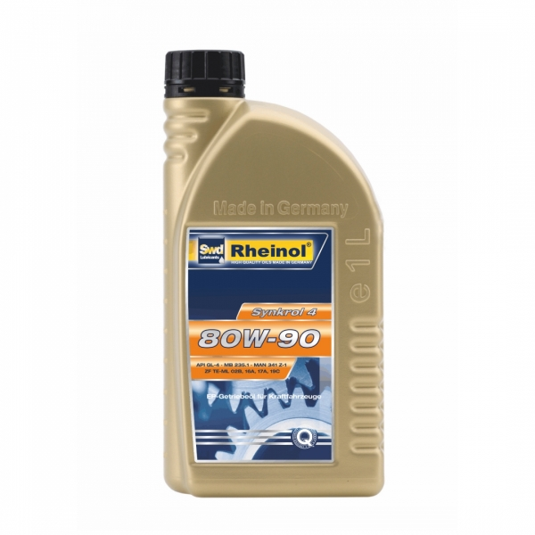 Трансмиссионное масло Swd Rheinol Synkrol 4 80W-90 1л