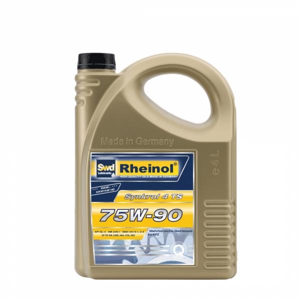 Трансмиссионное масло Swd Rheinol Synkrol 4 TS 75W-90 4л