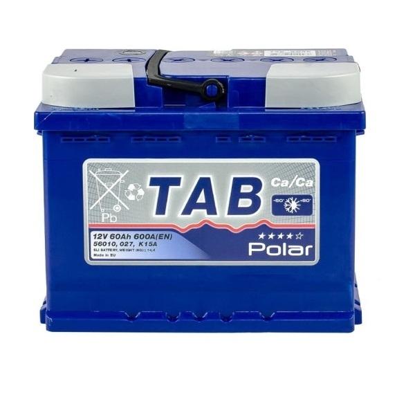 Аккумулятор Tab Polar Blue 60 Ah (L)