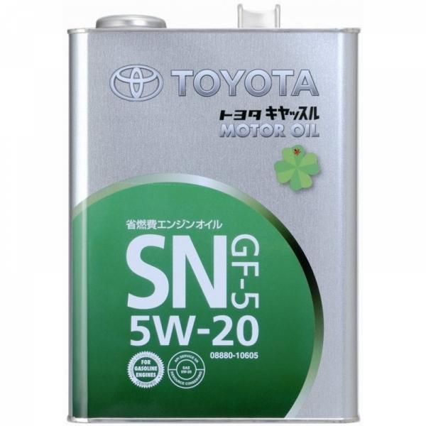 Моторное масло Toyota SN GF-5 5W-20 4л