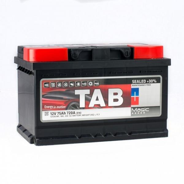 Аккумулятор Tab Magic 75 Ah (0)