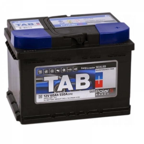 Аккумулятор Tab Polar Blue 60 Ah (1) низкий