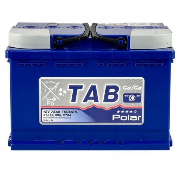 Аккумулятор Tab Polar Blue 75 Ah (0)
