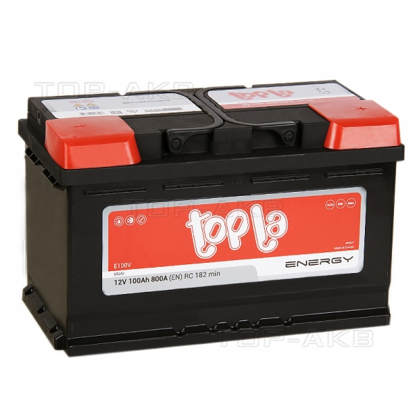 Аккумулятор Topla Energy 100 Ah L4 короткий