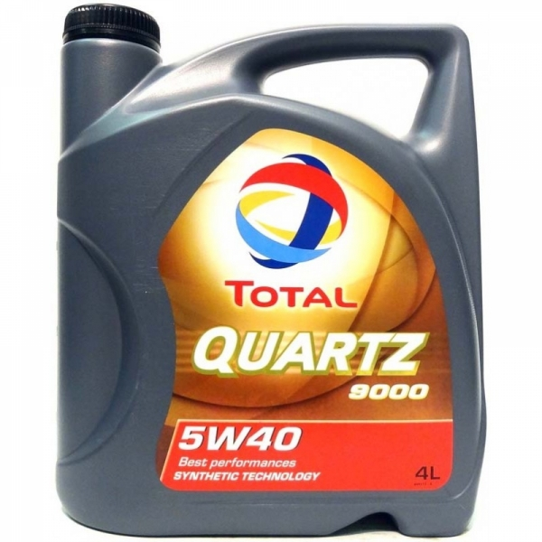 Моторное масло Total Quartz 9000 Energy 5W-40 4л