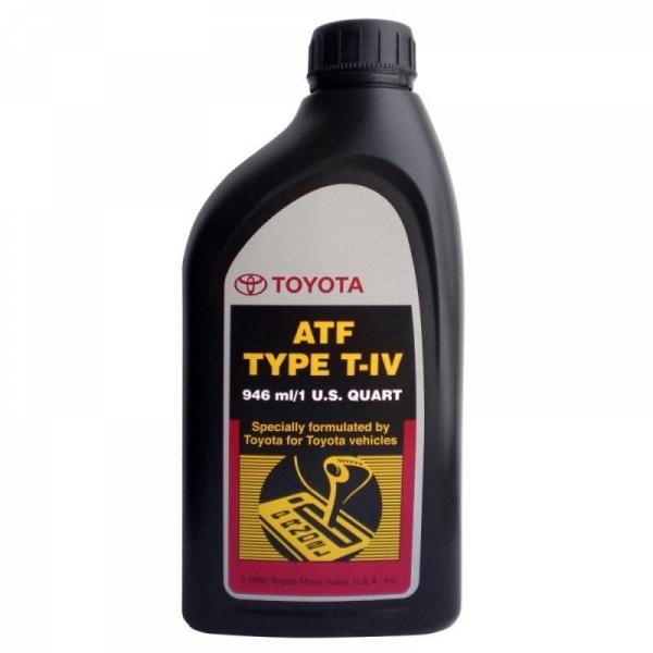 Трансмиссионная жидкость Toyota ATF Type T-IV 1л