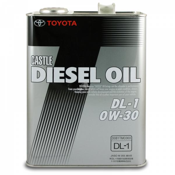 Моторное масло Toyota Diesel DL 0W-30 4л