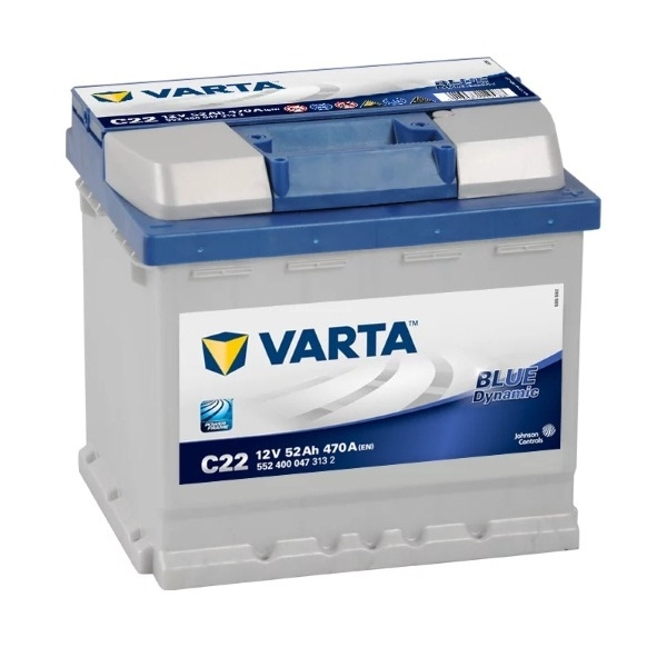 Аккумулятор Varta Blue Dynamic 52 Ah (C22)