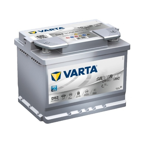 Аккумулятор Varta Start Stop Plus AGM 60 Ah (D52)