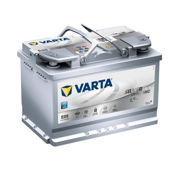 Аккумулятор Varta Start Stop Plus AGM 70 Ah (E39)