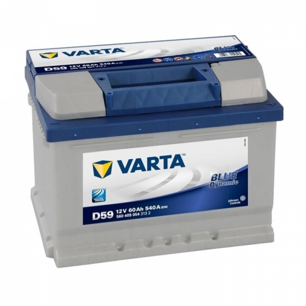 Аккумулятор Varta Blue Dynamic 60 Ah (D59)