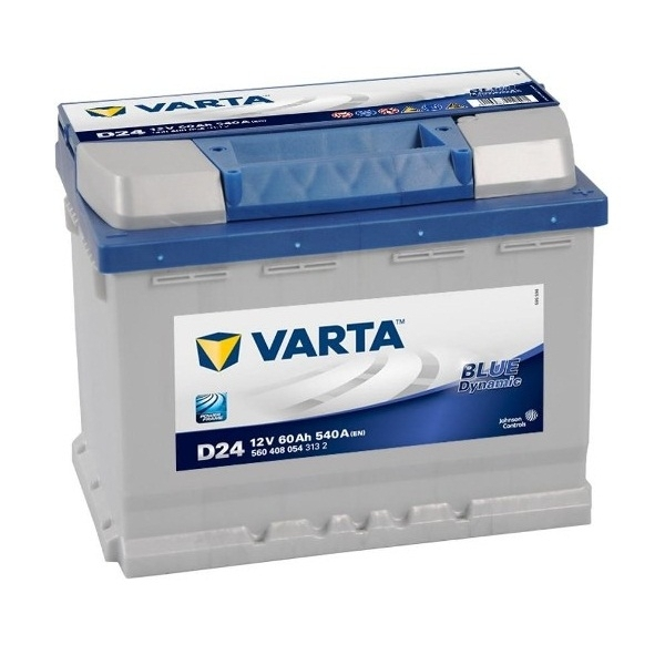 Аккумулятор Varta Blue Dynamic 60 Ah (D24)