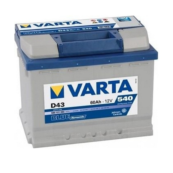Аккумулятор Varta Blue Dynamic 60 Ah (D43)