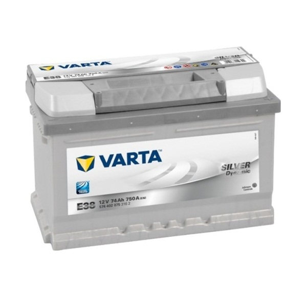Аккумулятор Varta Silver Dynamic 74 Ah (E38)