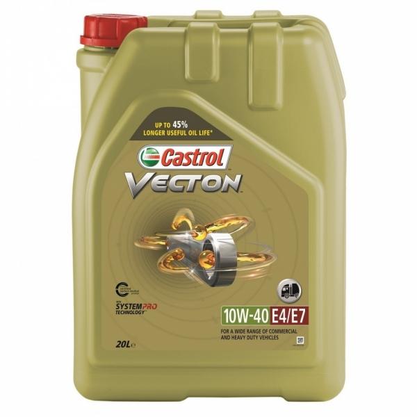 Моторное масло Castrol Vecton 10W-40 E4/E7 20л