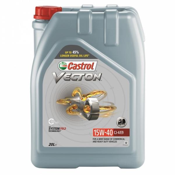 Моторное масло Castrol Vecton 15W-40 CJ-4 E9 20л