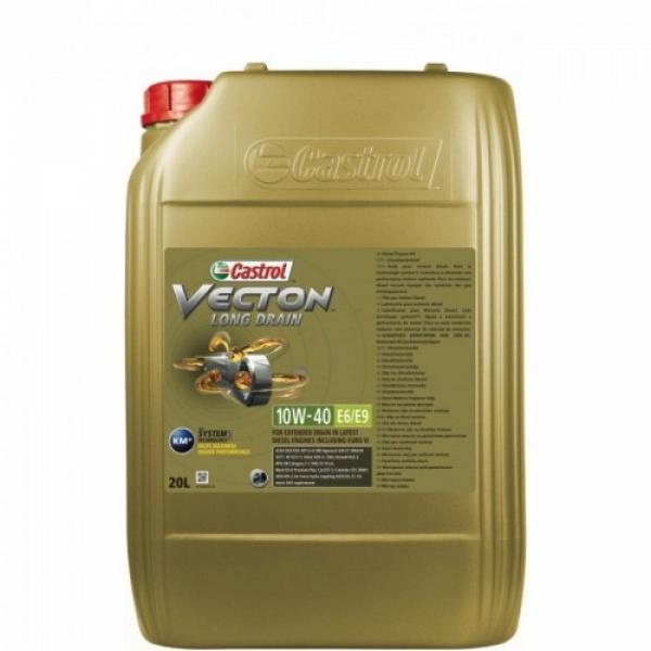 Моторное масло Castrol Vecton Long Drain 10W-40 E6/E9 20л
