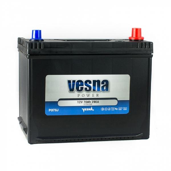 Аккумулятор Vesna Power Japan 70Ah (0)