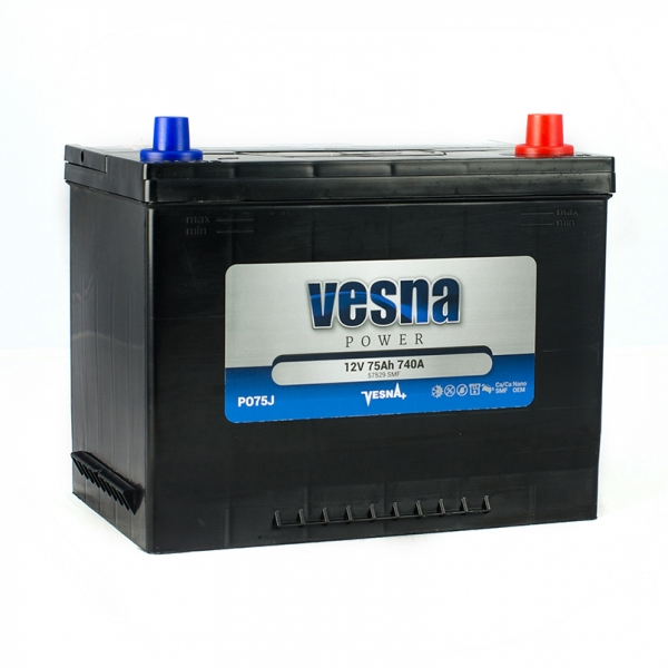 Аккумулятор Vesna Power Japan 75Ah (0)