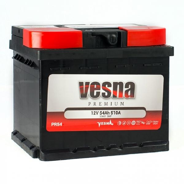 Аккумулятор Vesna Premium 54Ah (0)