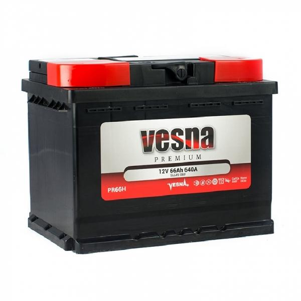 Аккумулятор Vesna Premium 66Ah (0)