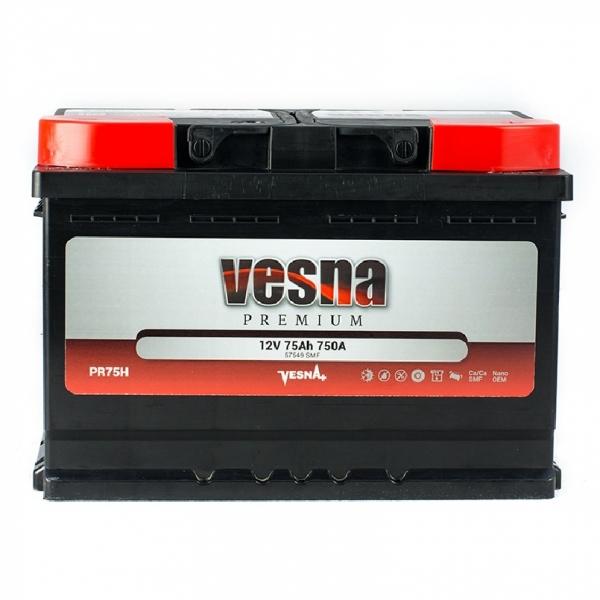 Аккумулятор Vesna Premium 75Ah (0)