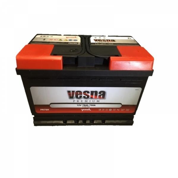 Аккумулятор Vesna Premium 78Ah (0)